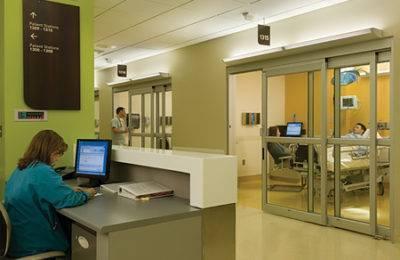 Southwest Medical Center hospital doors