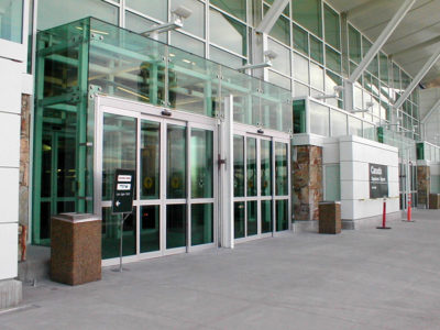 Vancouver Airport Sliding Doors
