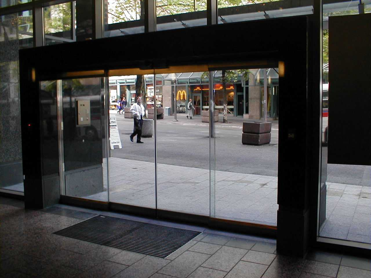 Vancouver Private Club Elegant Sliding Doors